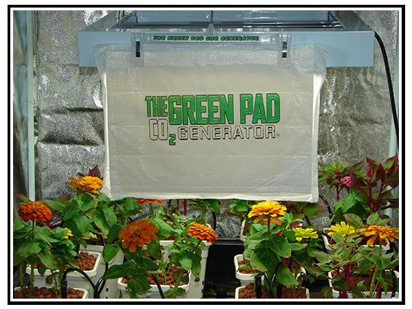 The Green Pad - CO2 Generator
