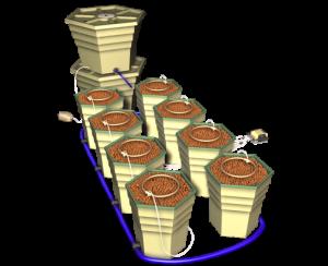 General Hydropoincs PowerGrower 8-Pack