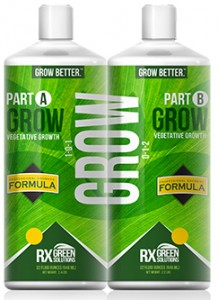 Rx Green Solutions Grow A&B