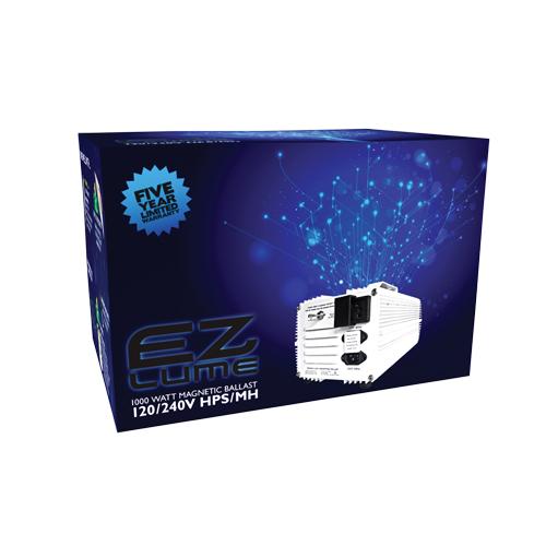 1000W EZ Lume Magnetic Ballast MH/HPS 120/240V