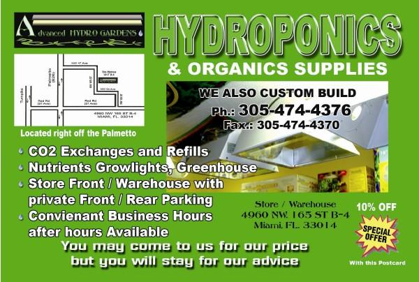 Advanced Hydro Gardens