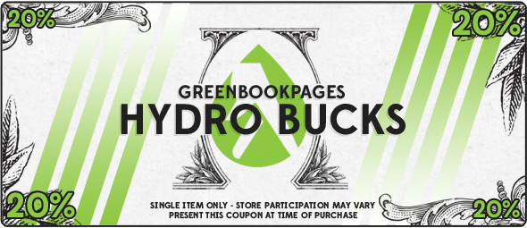 10% Off Hydroponic Coupon - GreenBookPages